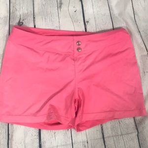 Athleta Swim Bottoms Shorts Medium GUC Hot Pink